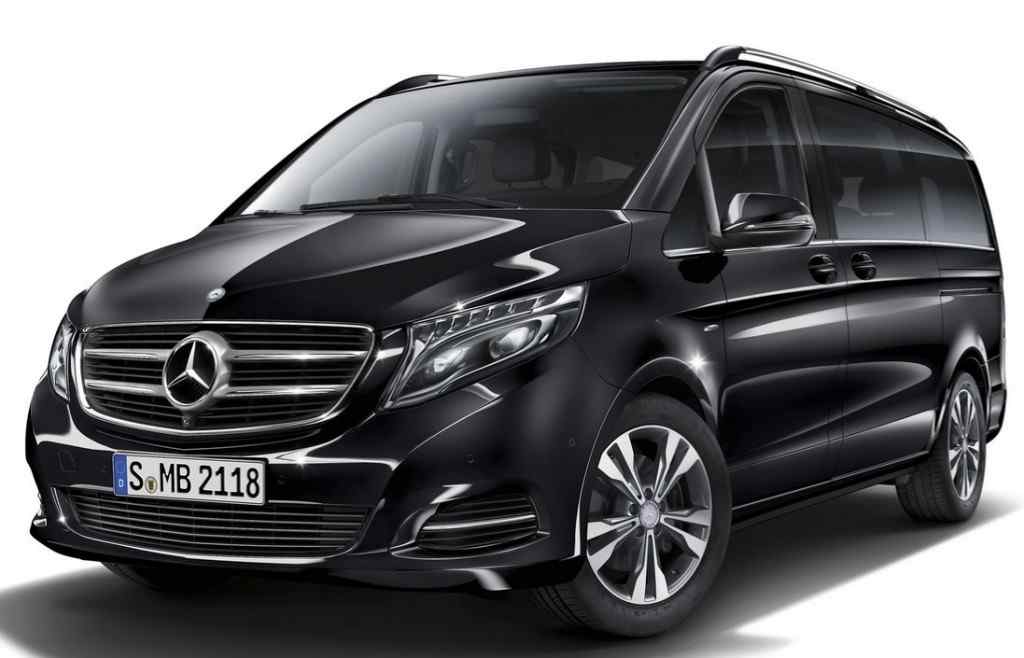 Mercedes People mover vans for Perth Airport Transfer